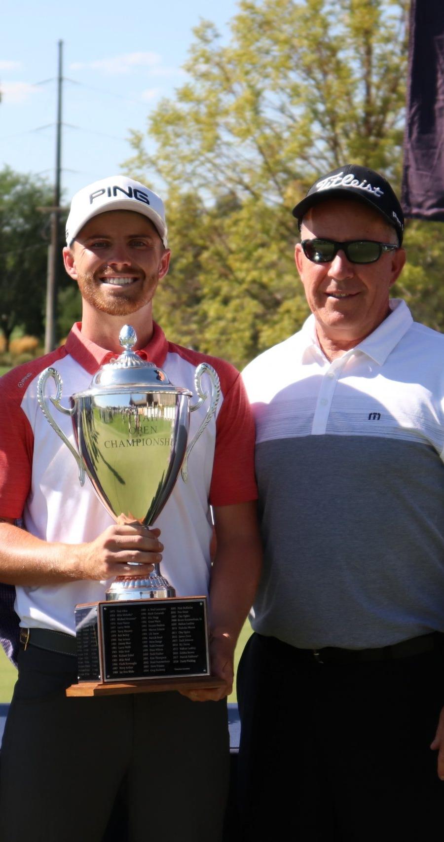 Utah Open Trophy Presentation