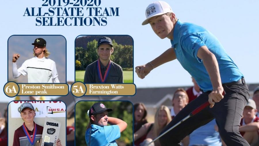 PGA High School All-State Teams Social Media