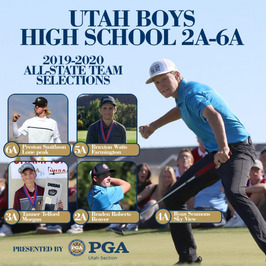 PGA High School All-State Teams Social Media