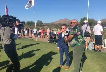 ESPN's Michael Collins Leads a Parade of Fun at the 2019 PGA Jr. League Championship; Warren Fisher joins Collins as Co-host