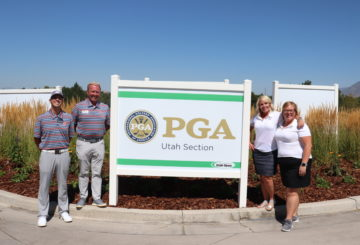 Utah Section PGA Office: Governor's Golf Industry Service Award