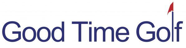 Good Time Golf Logo Blue Banner crop